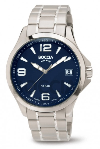 Boccia Herren Armbanduhr 3591-03 Sport