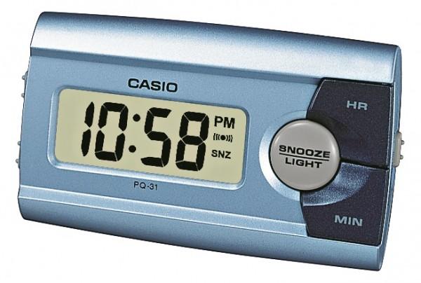 Casio Wecker PQ-31-2EF digital blau