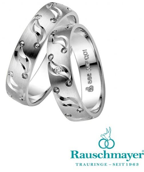 Eheringe Trauringe Rauschmayer Pair 2 10-05534 11-05534 Weißgold
