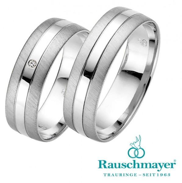 Eheringe Trauringe Rauschmayer Easy Line 20-03685 21-03685 Weißgold